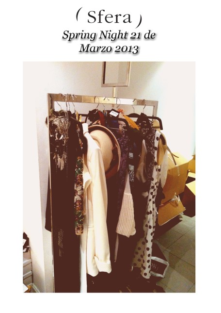 Outfits Sfera Spring Night 2013 Lorca y Cartagena copia